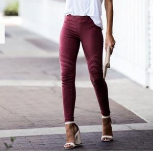 VICI Collection Piper jegging burgundy